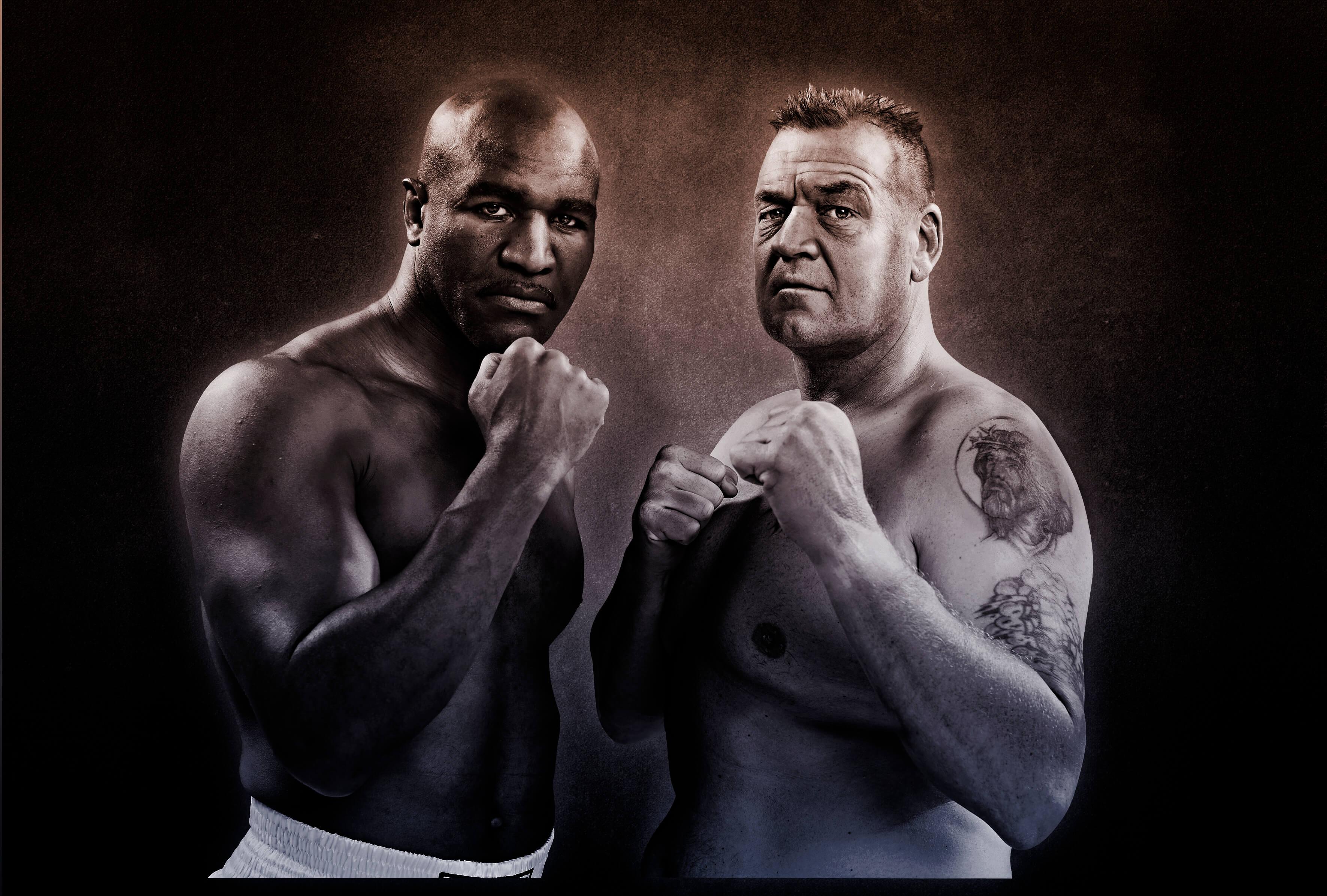 Brian Nielsen og Evander Holyfield, Legends of the Ring
