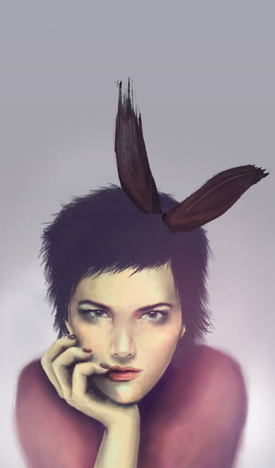 Digital Bunny